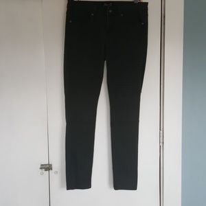 SEVEN7 moto skinny jeans